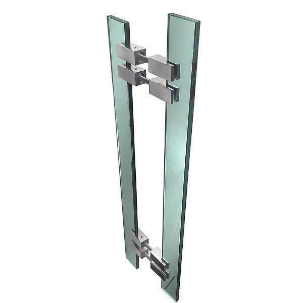 Puxador de Portas Vidro Verde Alto Padrão Vitrô 901VTV