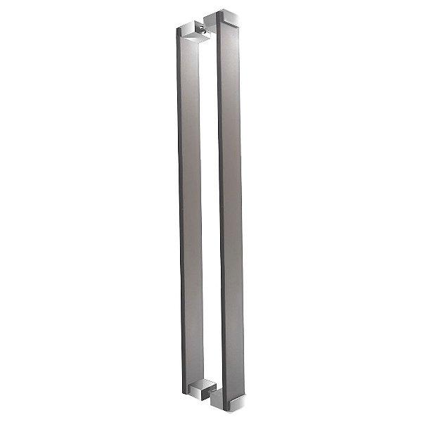 Puxador Para Portas em Vidro Bronze Jateado Retrô 110RTBJ