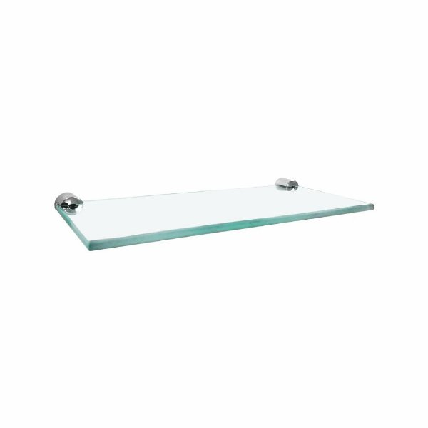 Porta Shampoo Reto em Vidro Luxo Slim 520LSA Grego Metal