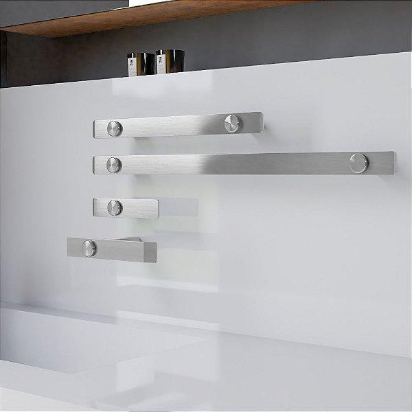 Kit Acessórios Para Banheiro Aço Inox Decaluxo 102DX Grego