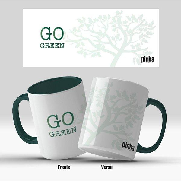 Caneca Go Green - Pinha Originals