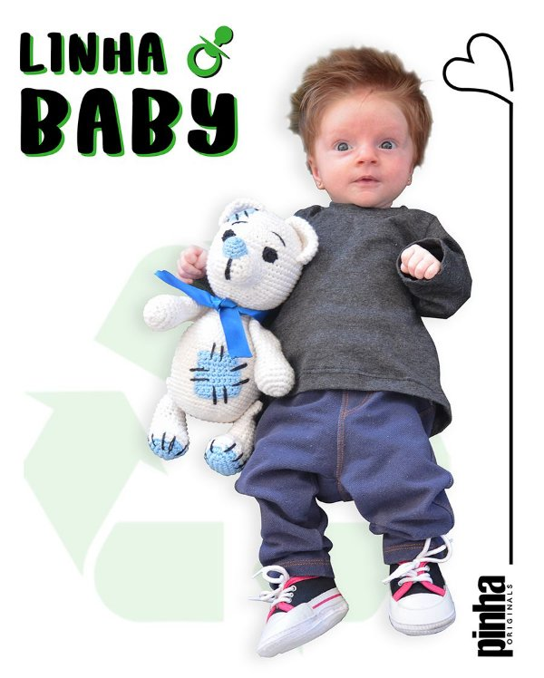 Camiseta Vegana Sustentável básica Tundora - Linha baby