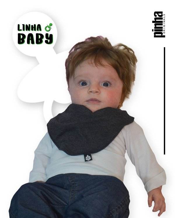 Babador Baby Sustentável - Tundora