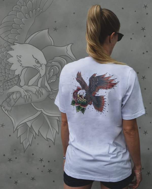 Camiseta Traditional Eagle -Pinha ECO SCHOOL