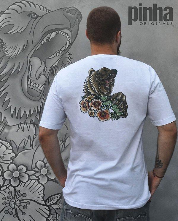 Camiseta Urso Cinzento California - Pinha ECO SCHOOL