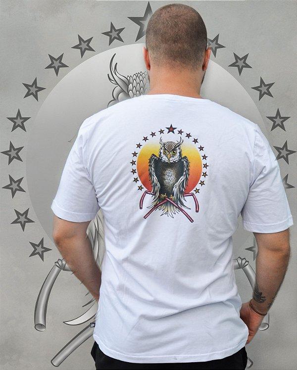 Camiseta Coruja -Pinha ECO SCHOOL