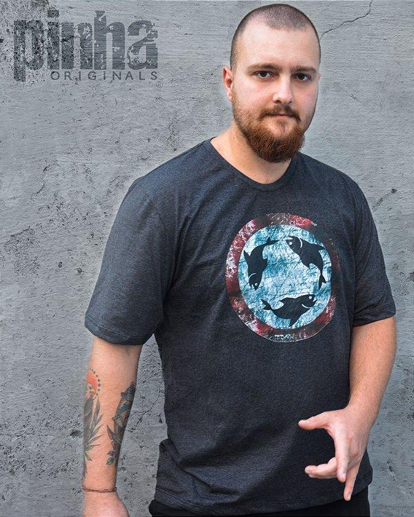 Camiseta Rotatória Peixes- Pinha Originals