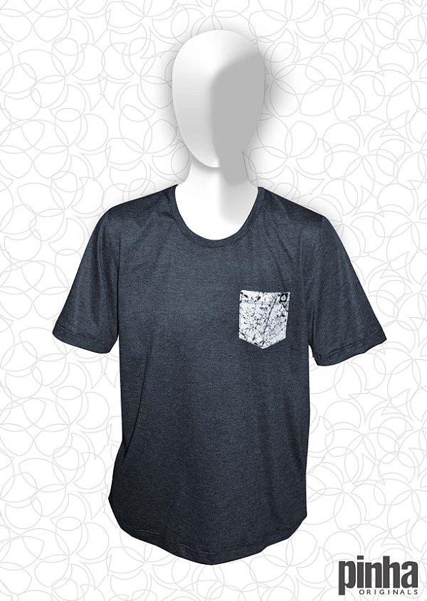 Camiseta com bolso respingado - Pinha Originals