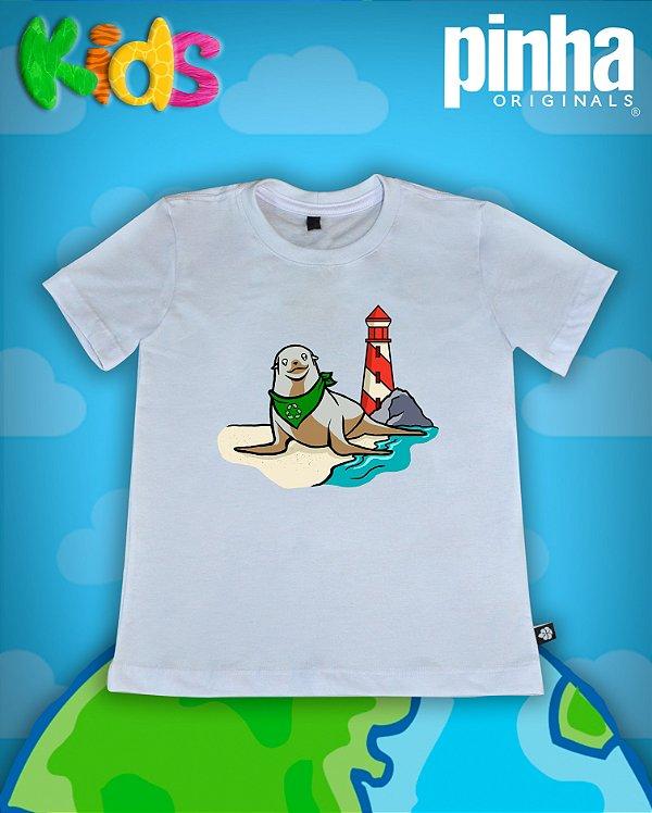 Camiseta Leão Marinho - Kids
