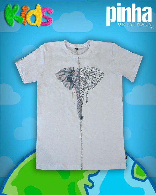 Camiseta Aniamal Duo Elefante- Kids