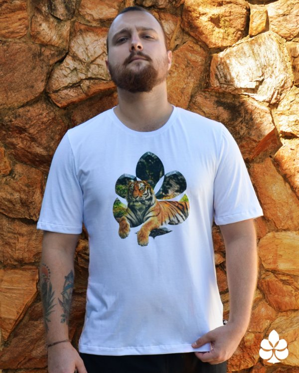 Camiseta Tigre de Bengala - Diamante
