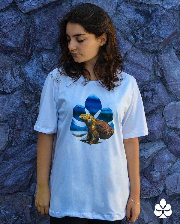 Camiseta Iguana da Jamaica - Diamante
