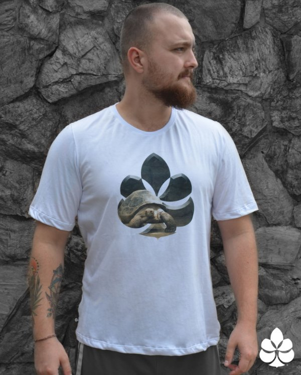 Camiseta Tartaruga de Galápagos- Diamante