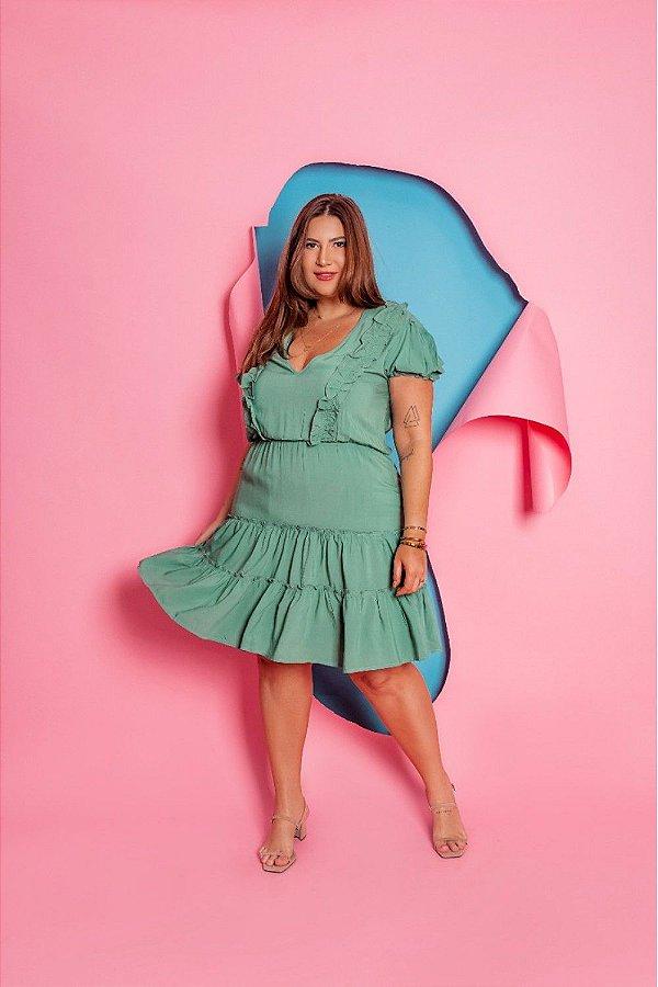 Vestido Plus Size Poliana