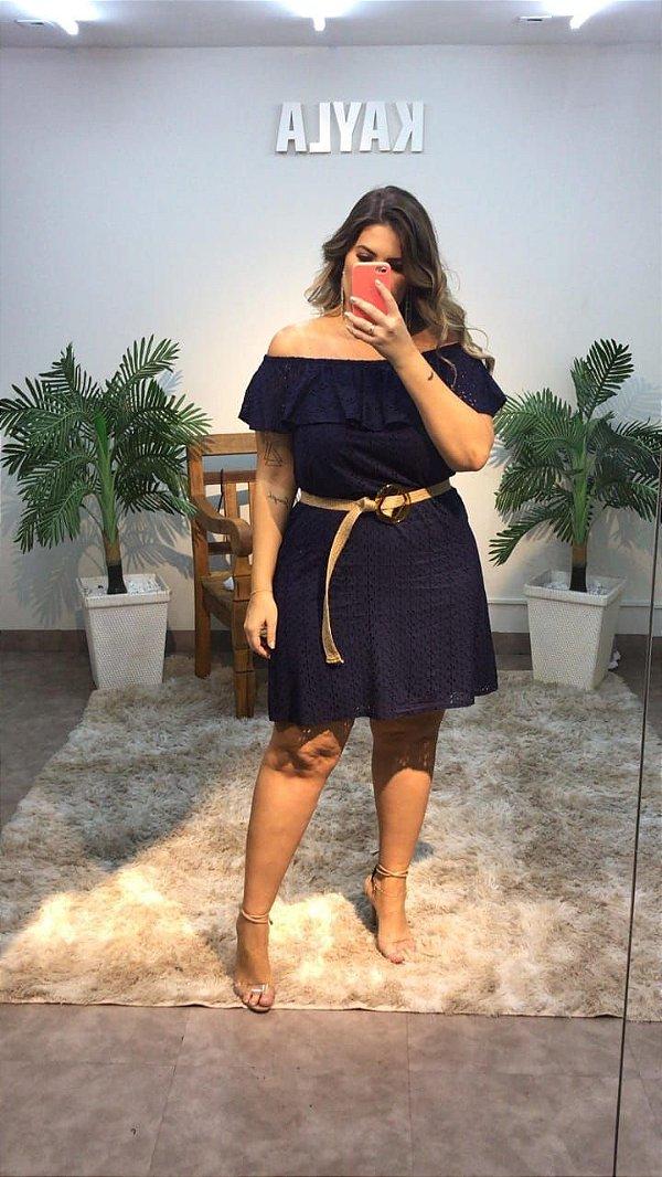 Vestido Lese Plus Size Hanna