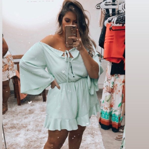 Macaquinho Plus Size Sirena