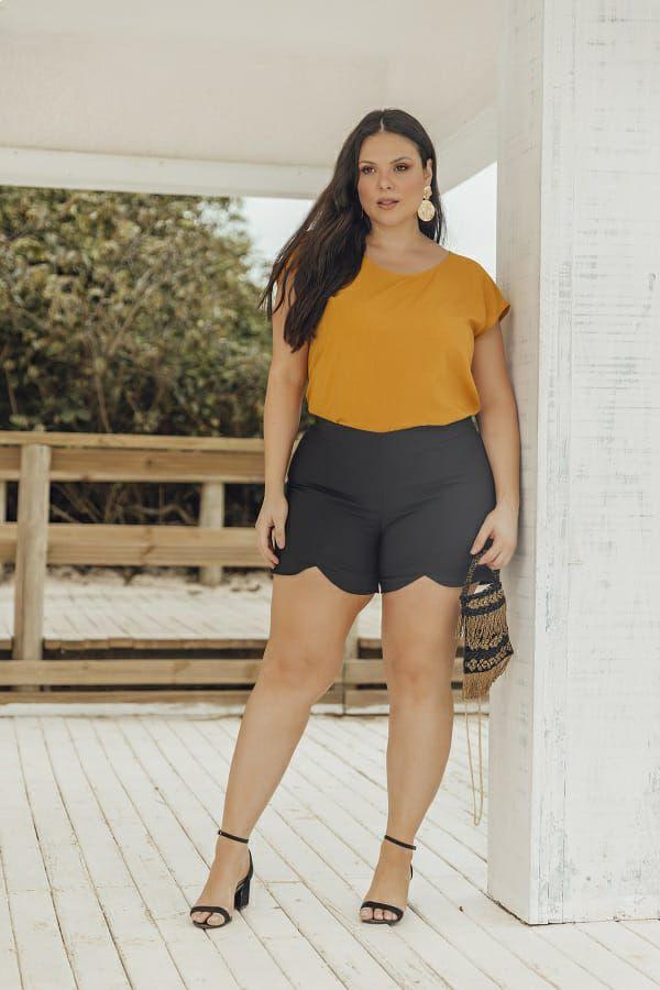 Shorts Plus Size  Deusa Atena