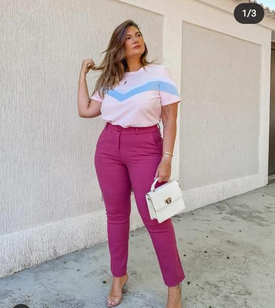 Calça Plus Size Skinny Briana