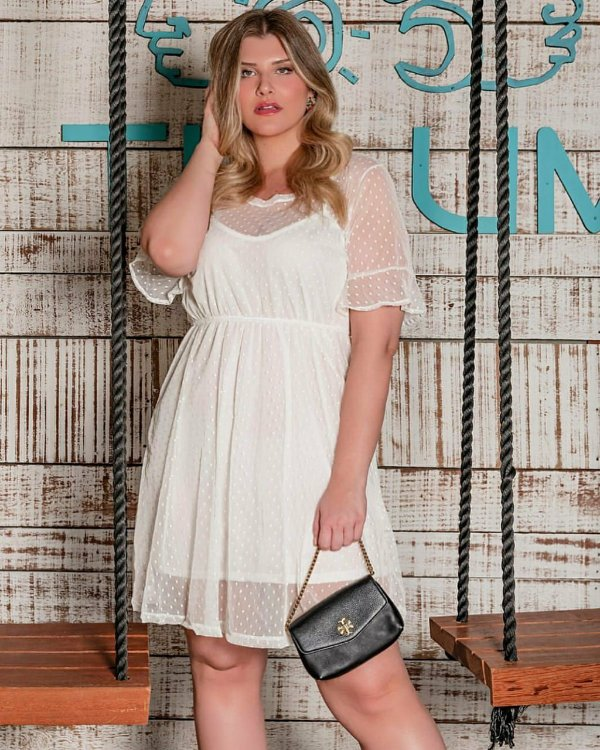 Vestido Tule Plus Size Jasmine