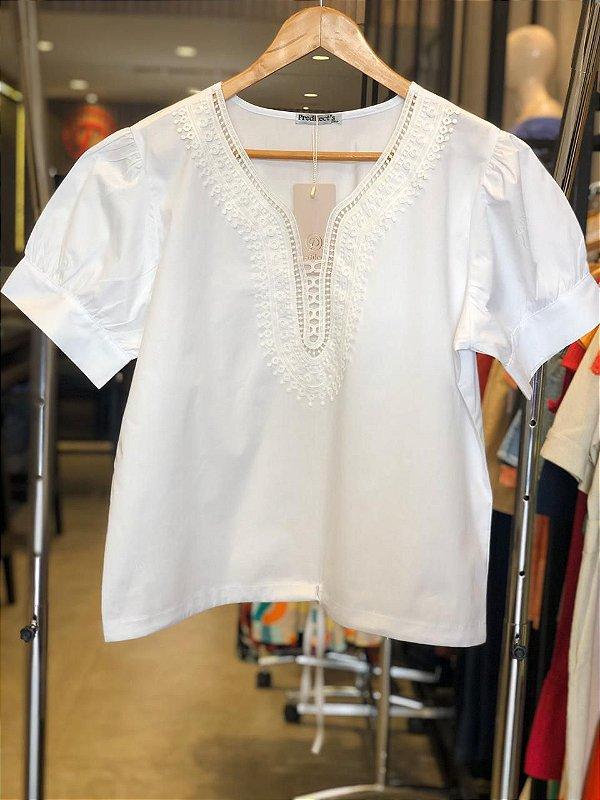 Blusa Plus Size Frescor da Tarde