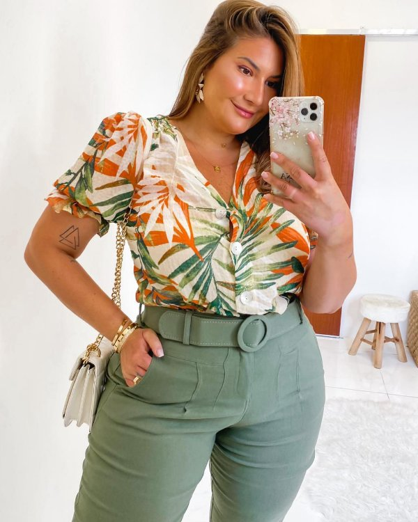 Camisa Plus Size Savana
