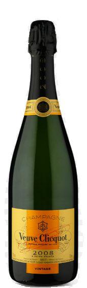 Champagne Veuve Clicquot brut Vintage 2008 - 750ml