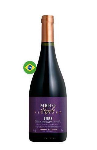 Vinho Miolo Single Vineyard Syrah - 750ml