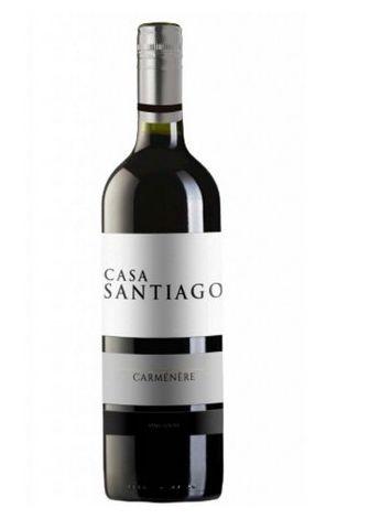 Vinho Chileno Casa Santiago Carménère 750ml
