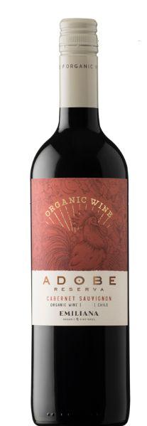 Vinho Orgânico Adobe Reserva Cabernet Sauvignon-750 ml