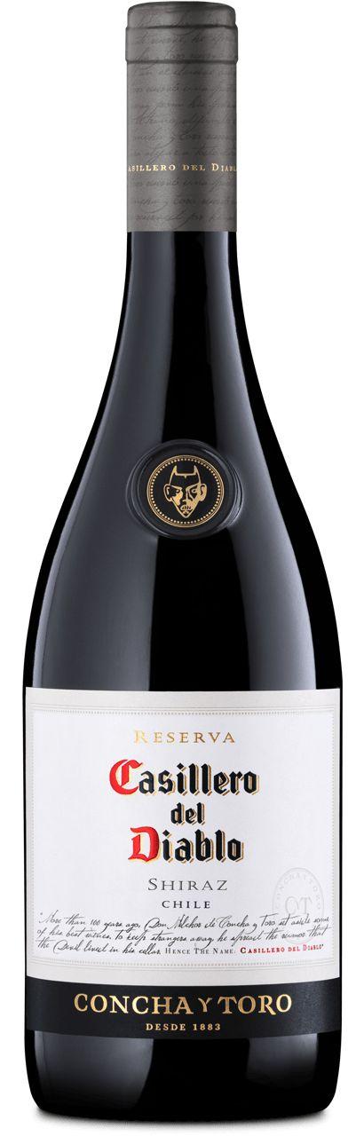 vinho casillero del diablo reserva Shiraz