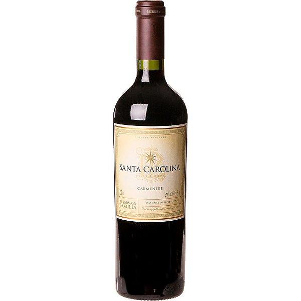 Vinho Tinto Santa Carolina Reserva de Família Carménère 750ml