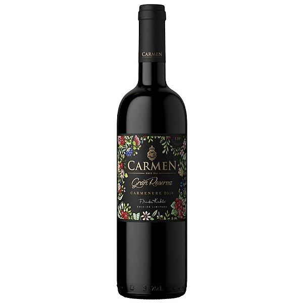 Vinho Tinto Carmen Gran Reserva Frida Kahlo Carménère 750ml