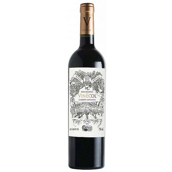 Vinho Vinecol Orgânico Cabernet Sauvignon - 750ml