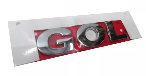 Emblema Letreiro Gol G5
