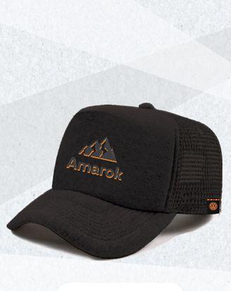 Boné  Amarok V6 Preto
