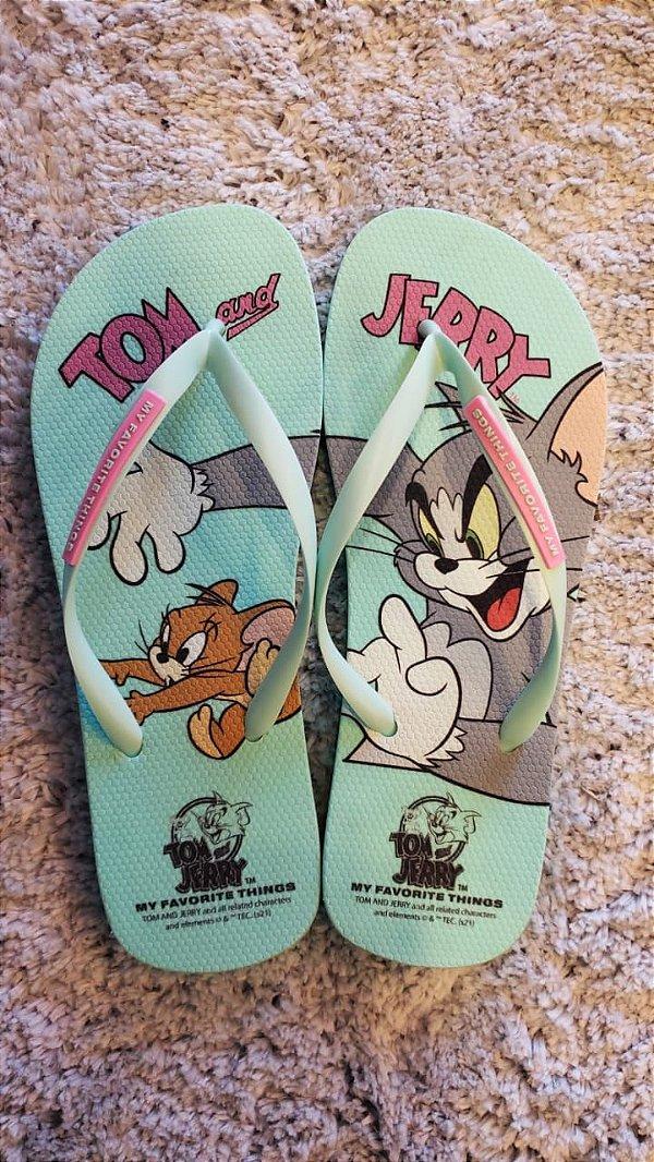 Chinelo Tom & Jerry Aqcua  MYFT