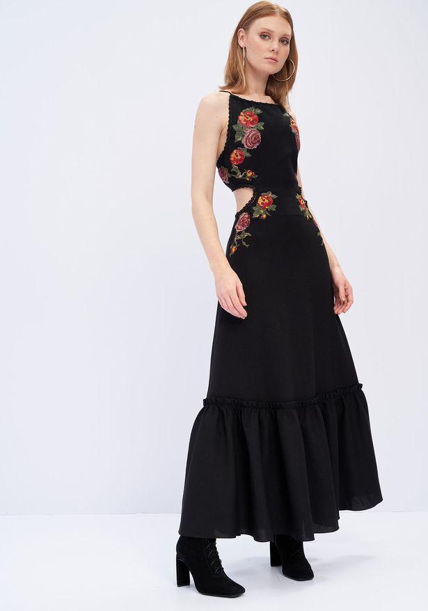 Vestido Longo Frente Unica Lança Perfume