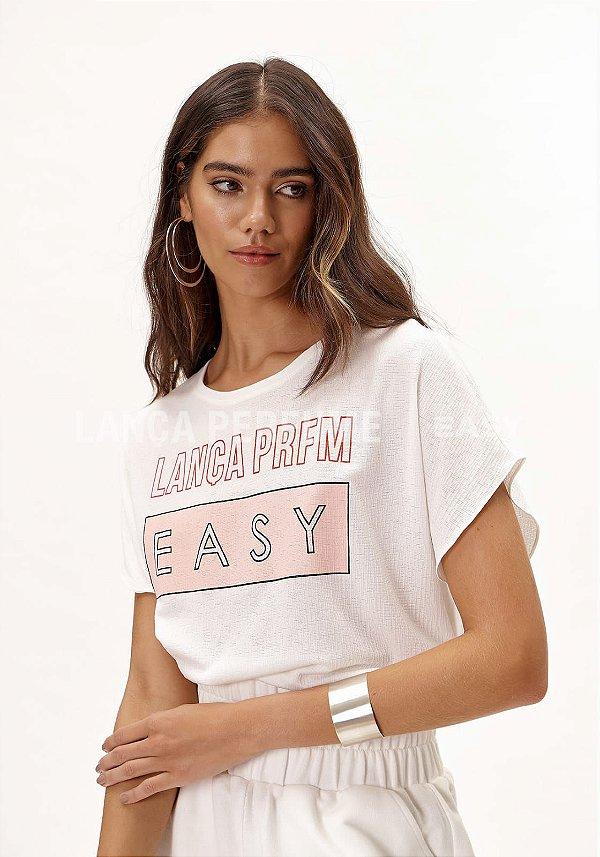 T-shirt Ampla Lança Perfume Easy