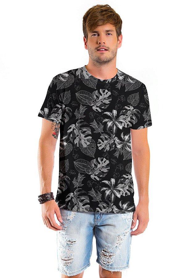 Camiseta Básica Adulto Costela Adão Preto
