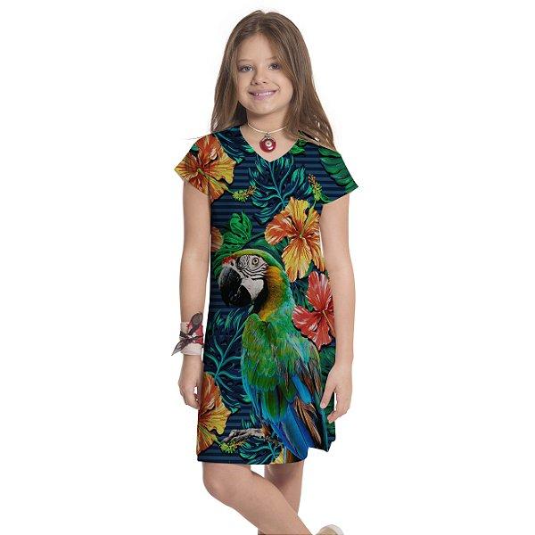 Vestido Curto Vanilla Infantil Arara Frontal