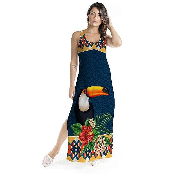 Vestido Longo Tulipa Tucano Frontal