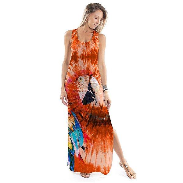 Vestido Longo Tulipa Arara Tie Dye