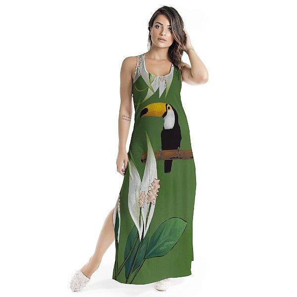 Vestido Longo Tulipa Lírio da Paz