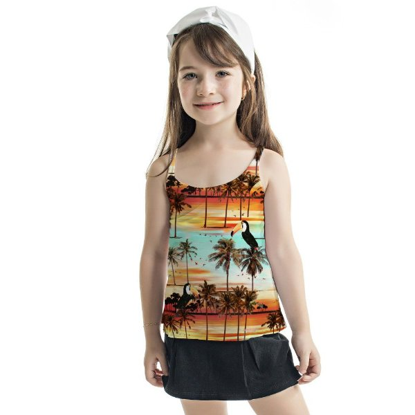 Regata Summer Infantil Por do Sol