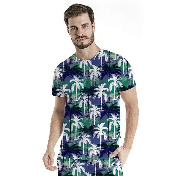 Camiseta Básica Adulto Coqueiros
