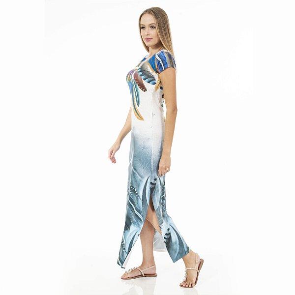 Vestido Longo  Jeri Penas