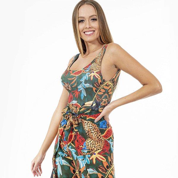 Body Feminino Onças e Tucanos