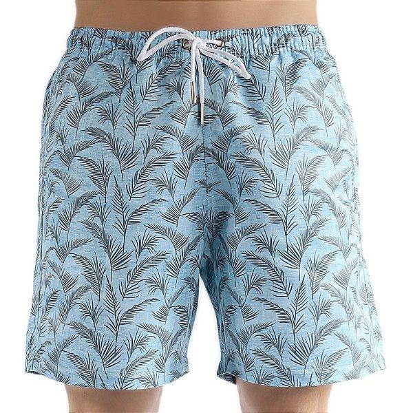 Bermuda Masculino Adulto Jeans Effect