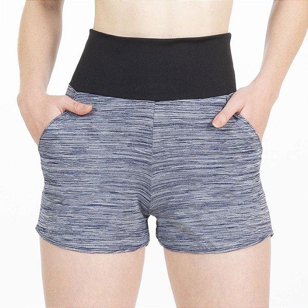 Shorts Fitness Cós Alto Marinho