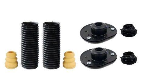 2 Kit Batente Coxim Coifa e Rolamento Dianteiro Ford Fusion 2013 a 2018